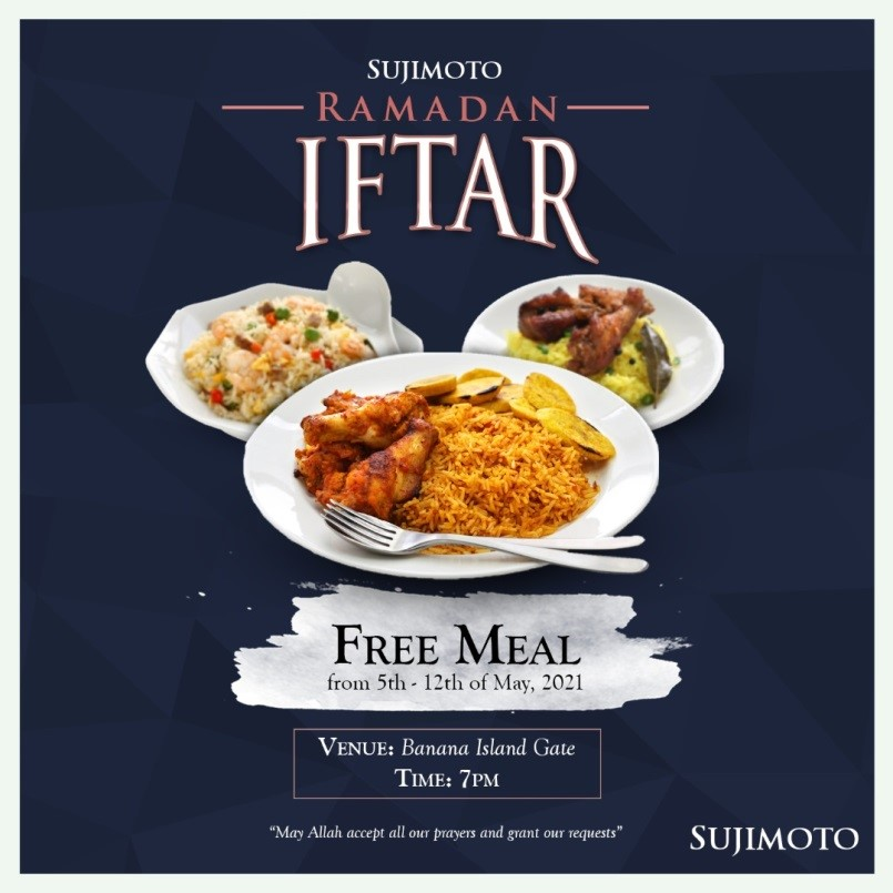 SUJIMOTO PROVIDES IFTAR FOR OVER 5000 MUSLIM THIS HOLY MONTH